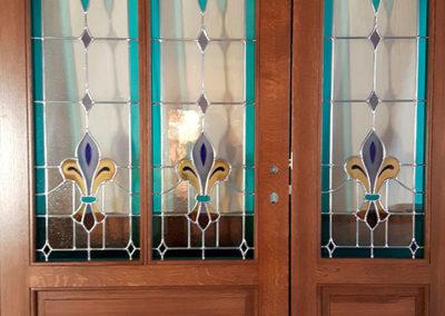 Bleiverglasung Türe
