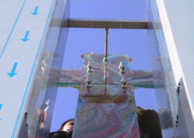 Kunst am Bau Glas Marton